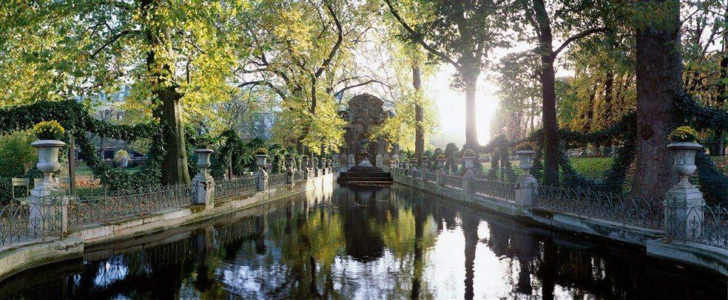 Панорама Люксембургского сада