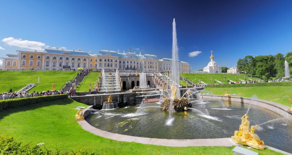 Панорама Парка Петергофа