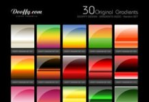 Set 4 by Roamn gradients for Photoshop