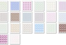 Damask patterns – patterns for Photoshop