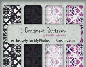 5 бесплатных орнаментальных узоров для Photoshop