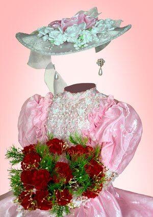 девочка с пурпурными розами