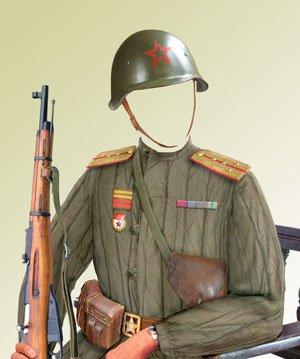 солдат российской армии