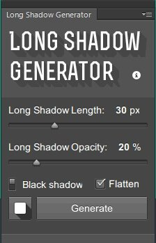 Long Shadows Generator