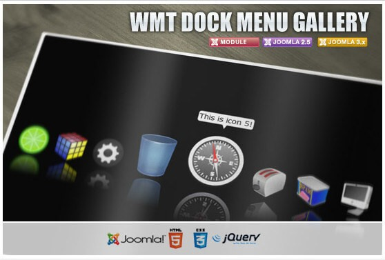 WMT Dock Menu Gallery