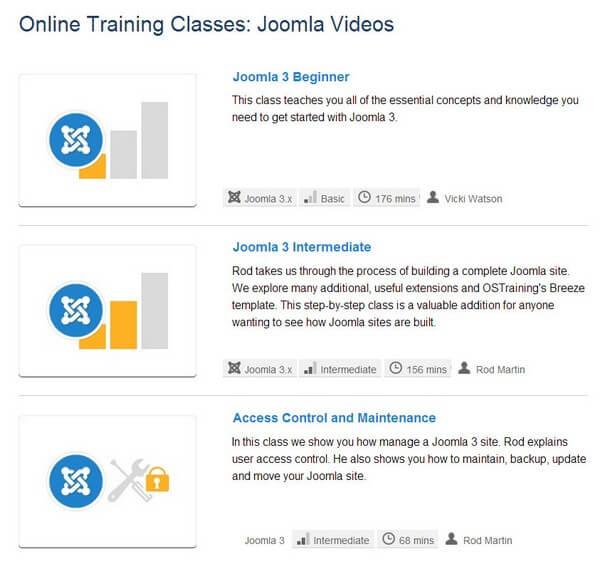 изменить порядок материалов в Joomla