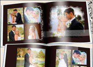 Свадебная фотокнига для Фотошоп