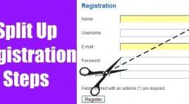 Split Up Registration Steps - делим на шаги регистрацию Joomla