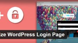 Customize WordPress Login Page - настройка страницы входа