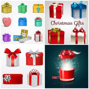 Рождественские коробки