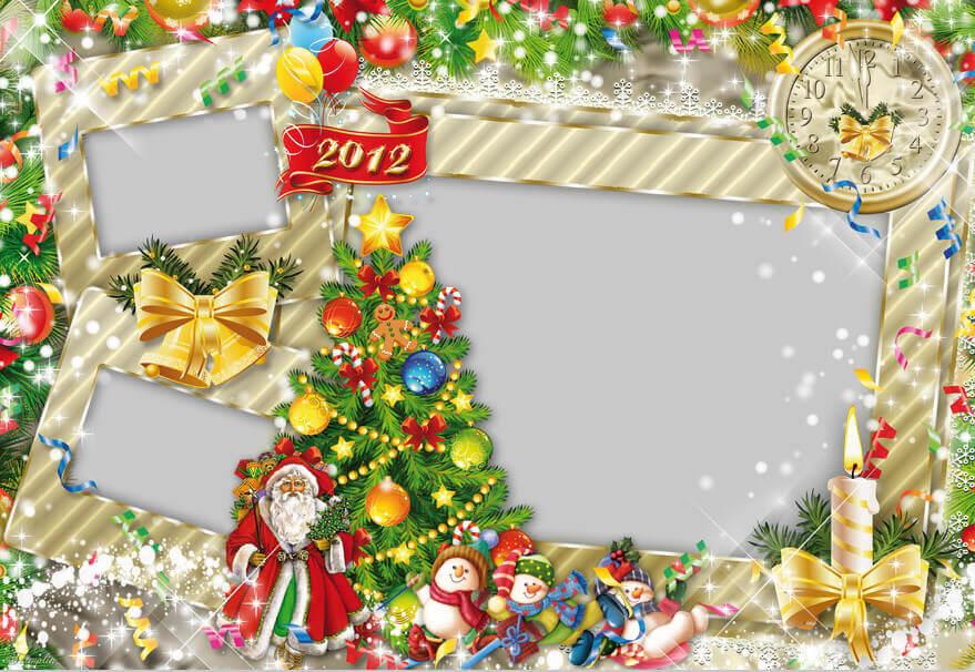Рамка на Новый Год
