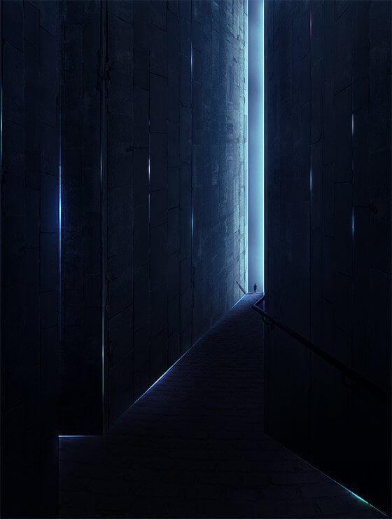 комната Фотошоп