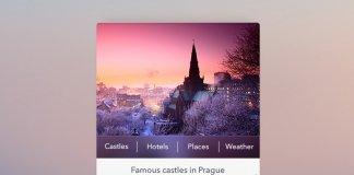 travel widget