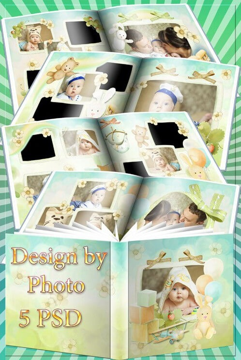 Classic photobook for Photoshop – believe in love