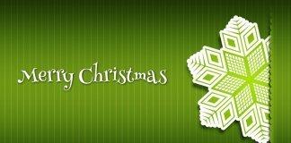 Рождественская открытка в формате .PSD