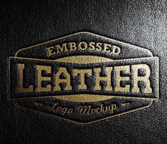Логотип из кожи