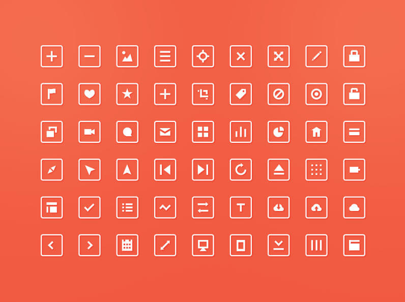 Squared Icons