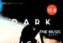 Club A5 Flyer Template - Dark Night Fire