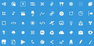 50 Icons Glyphs