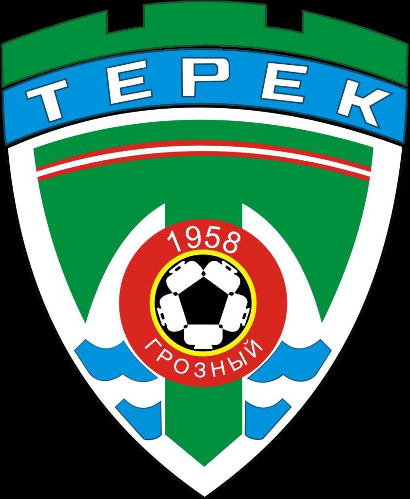 Векторная эмблема футбольного клуба «Терек»