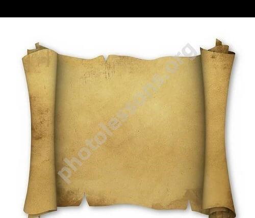 PSD пергамент