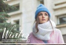 70 зимних Фотошоп экшенов