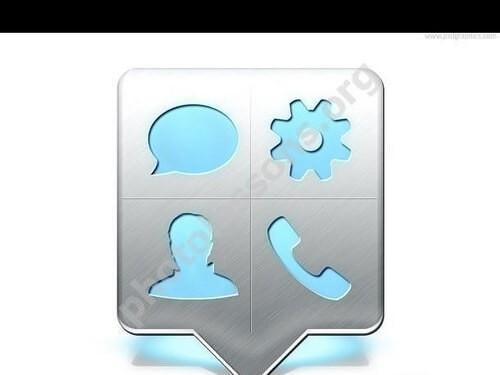 иконка контактов в формате PSD