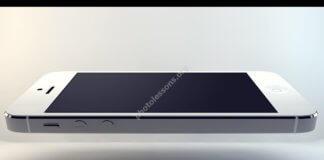Парящий iPhone в Фотошоп