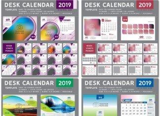 Настольный календарь 2019 года