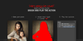 Mystery Photoshop Action CS3+