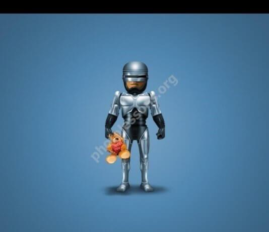 Робокоп для Фотошоп