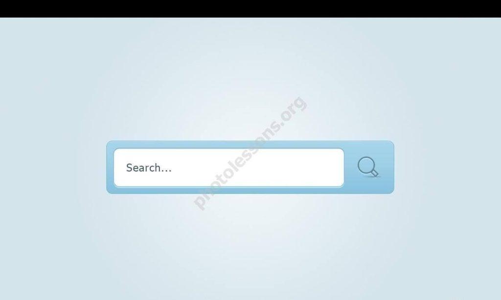 Элемент поиска для Фотошоп
