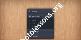Video tutorials Photoshop. Processing night photos.