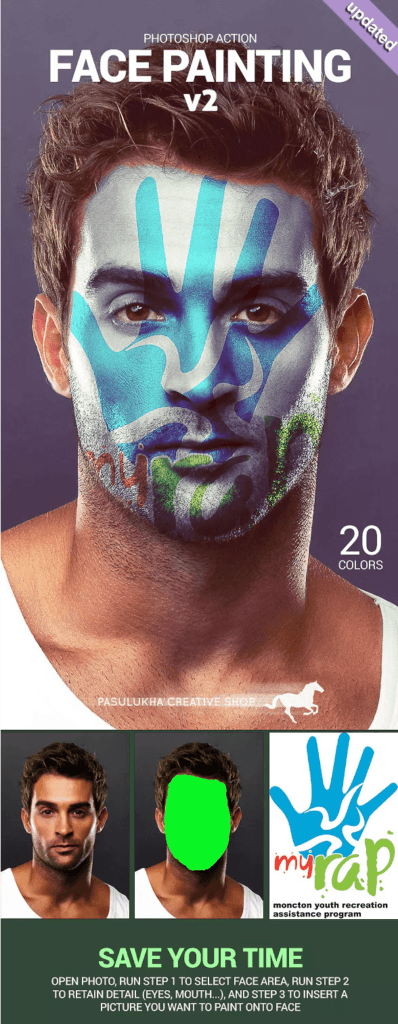 Face Painting от GraphicRiver