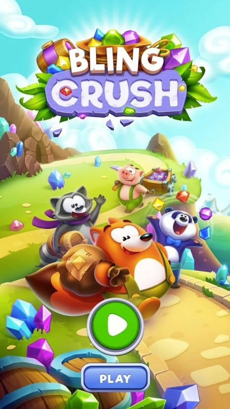 Bling Crush - Free Match 3 Puzzle Game