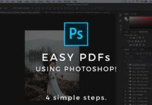 создать PDF файл в Фотошоп