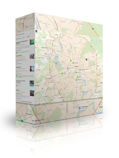 Парсинг Яндекс Карты