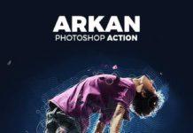 Arkan Фотошоп экшен