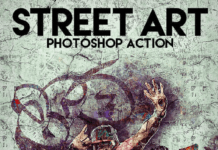 Street Art Photoshop Action