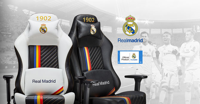 Tesoro Real Madrid Gaming Chair