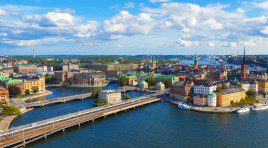 Обзорная панорама Стокгольма