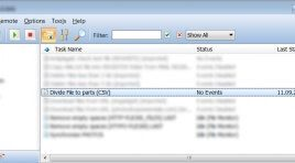 Скрипт для RoboTask - разделение текста на части по строкам