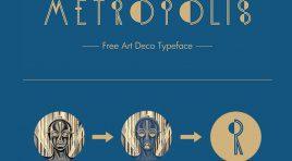Шрифт - KH-Metropolis для Фотошоп