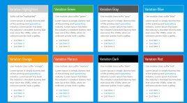Bloggani - премиум шаблон для создания блога на CMS Joomla